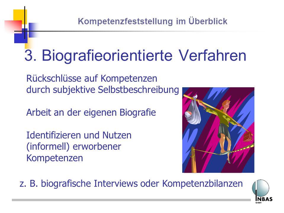 3. Biografieorientierte Verfahren