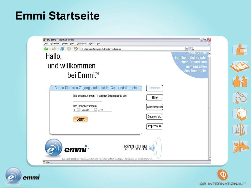 Emmi Startseite