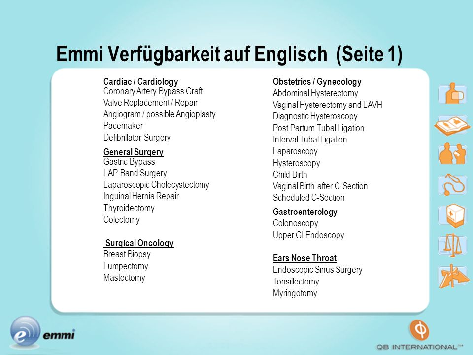 Emmi Verfügbarkeit auf Englisch (Seite 1)