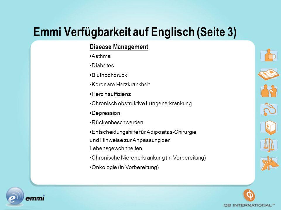 Emmi Verfügbarkeit auf Englisch (Seite 3)
