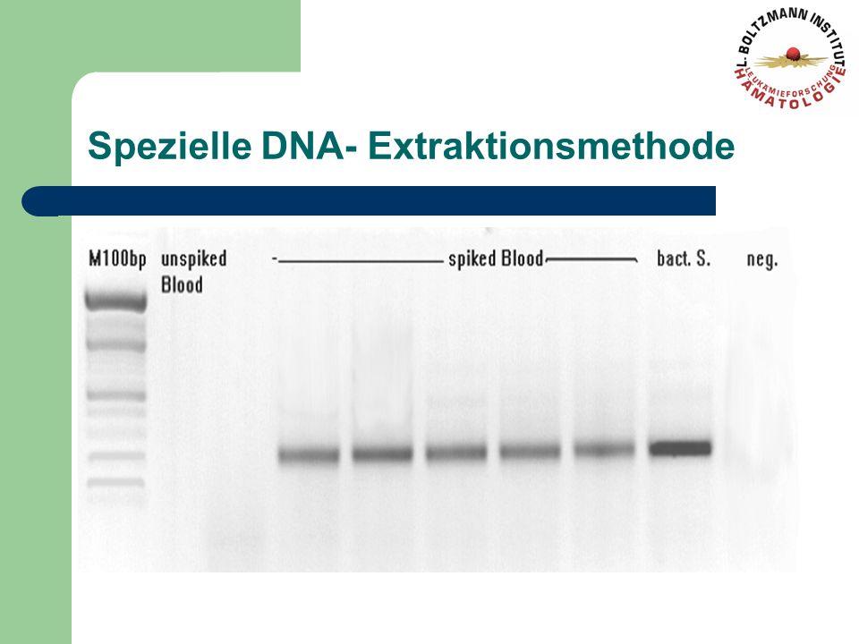 Spezielle DNA- Extraktionsmethode