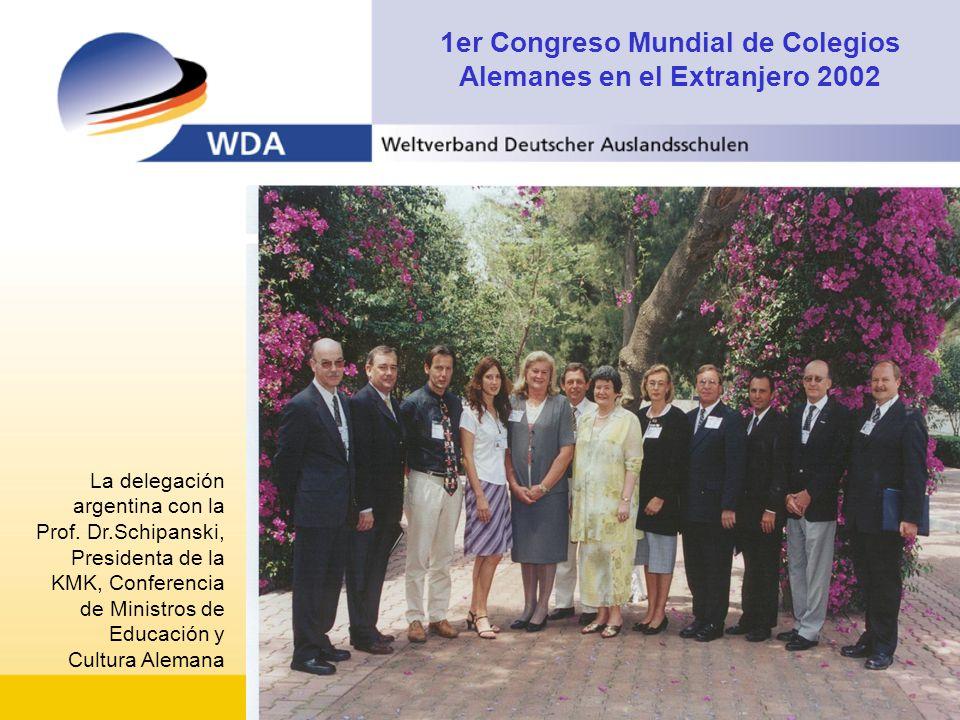 1er Congreso Mundial de Colegios Alemanes en el Extranjero 2002