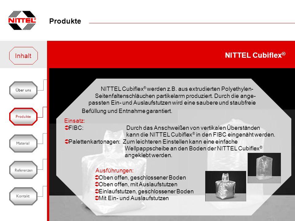 Produkte NITTEL Cubiflex® Inhalt