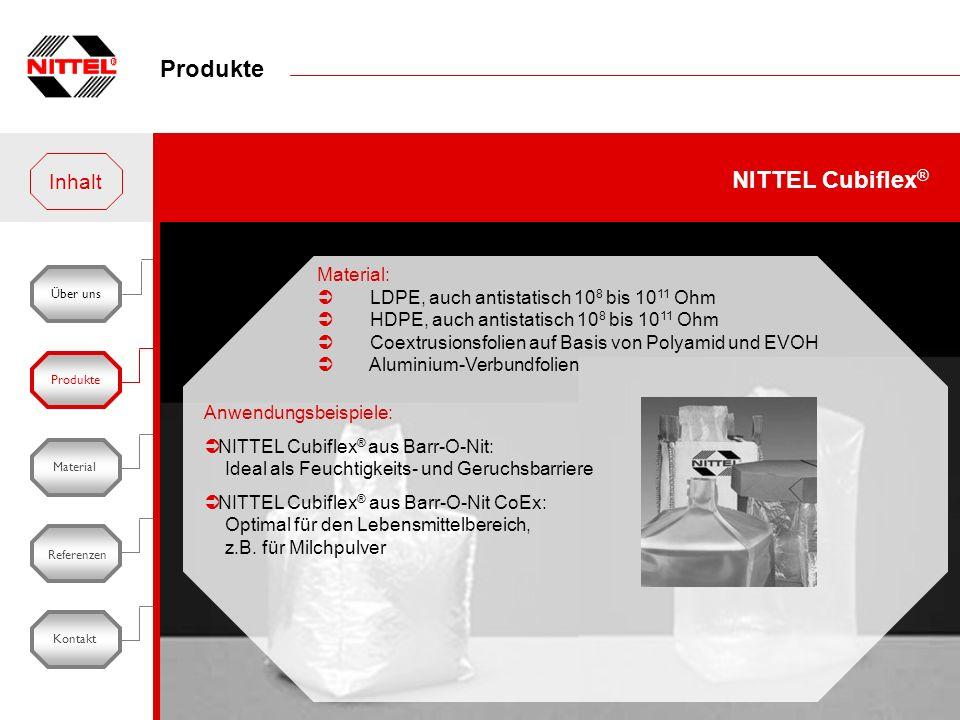 Produkte NITTEL Cubiflex® Inhalt Material: