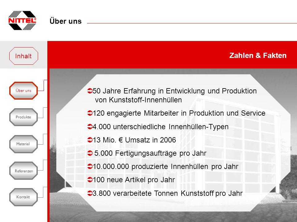 120 engagierte Mitarbeiter in Produktion und Service