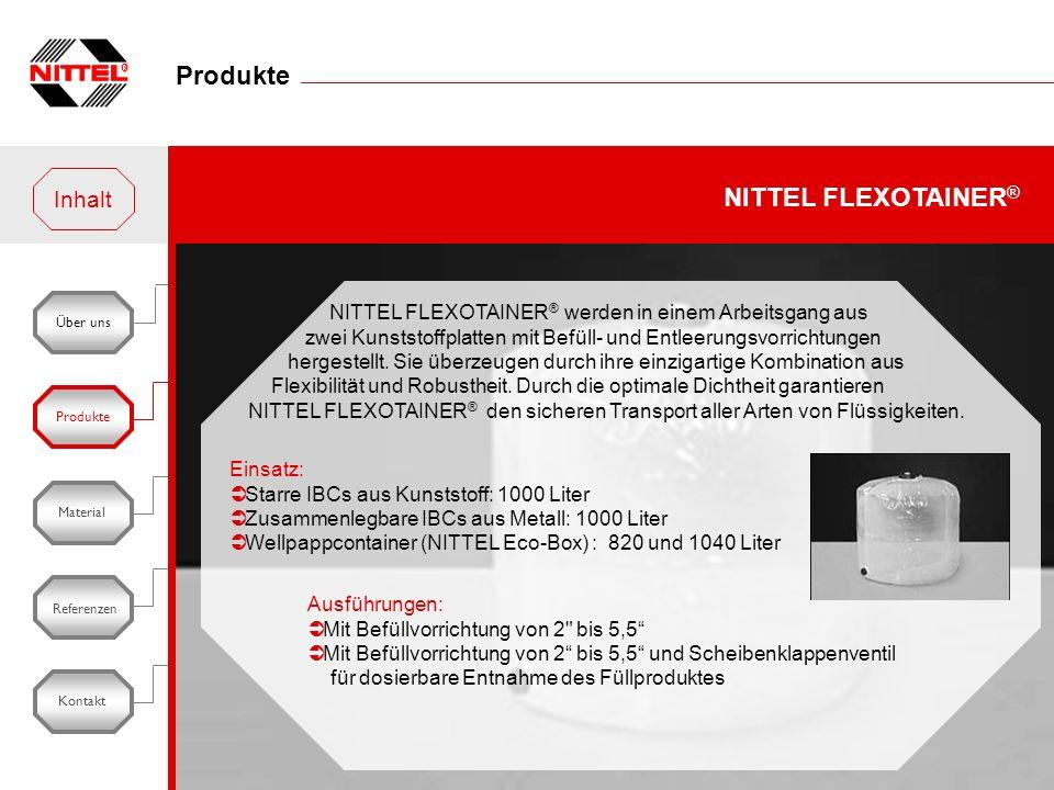 Produkte NITTEL FLEXOTAINER® Inhalt
