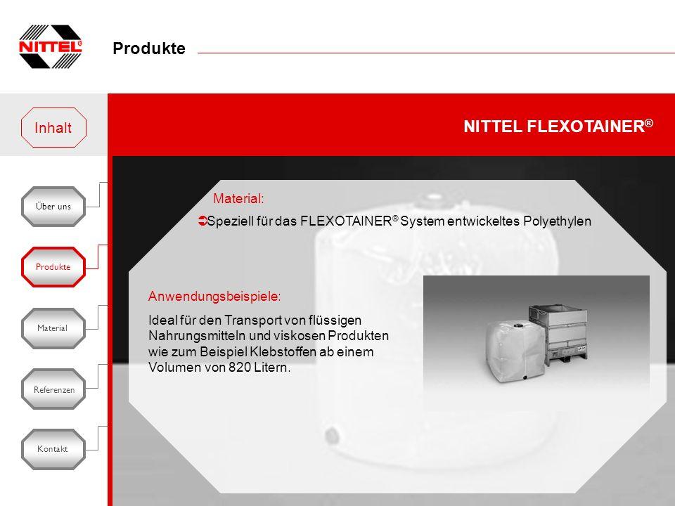 Produkte NITTEL FLEXOTAINER® Inhalt Material: