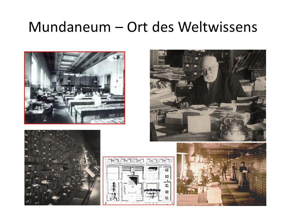 Mundaneum – Ort des Weltwissens