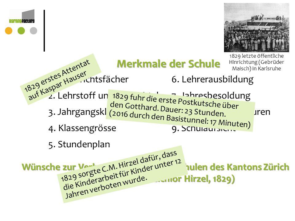 1829 letzte öffentliche Hinrichtung (Gebrüder Maisch) in Karlsruhe