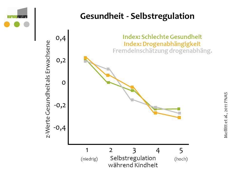 Gesundheit - Selbstregulation