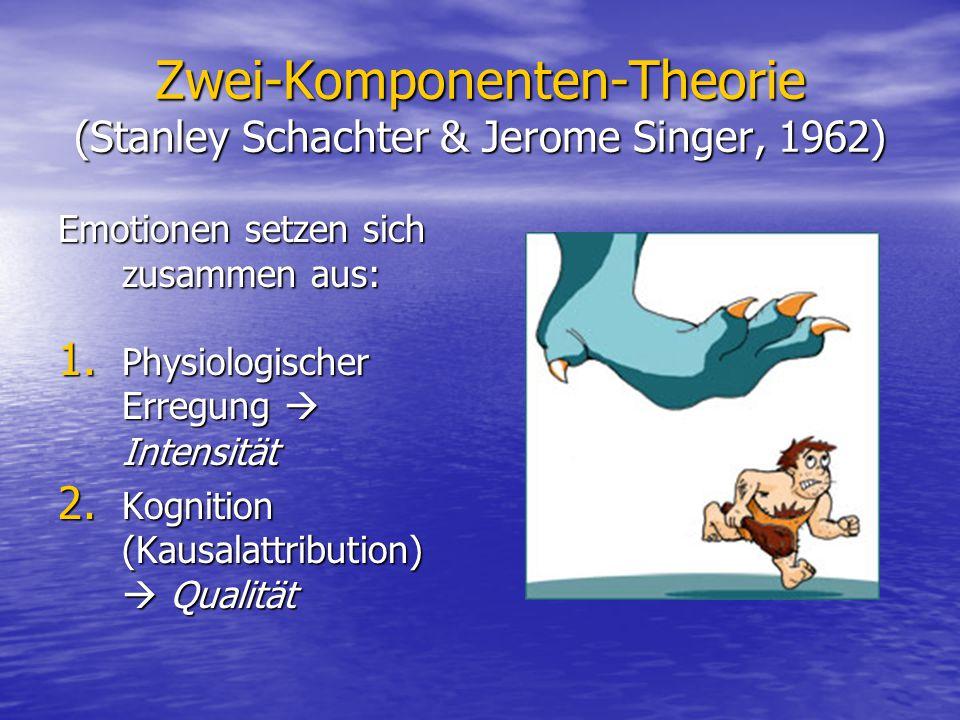 Zwei-Komponenten-Theorie (Stanley Schachter & Jerome Singer, 1962)