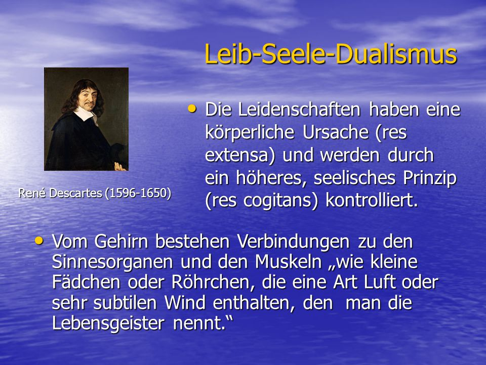 Leib-Seele-Dualismus
