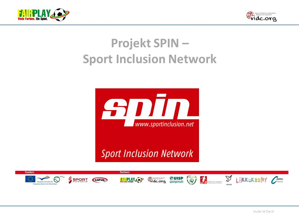 Projekt SPIN – Sport Inclusion Network