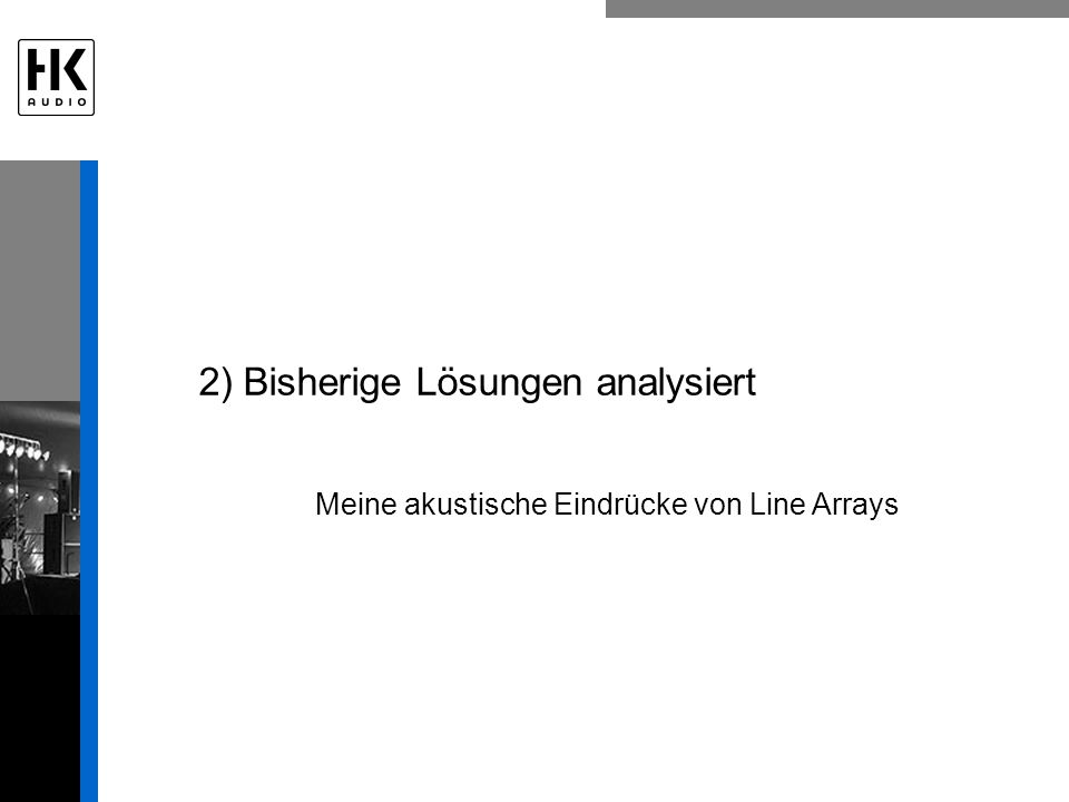 2) Bisherige Lösungen analysiert