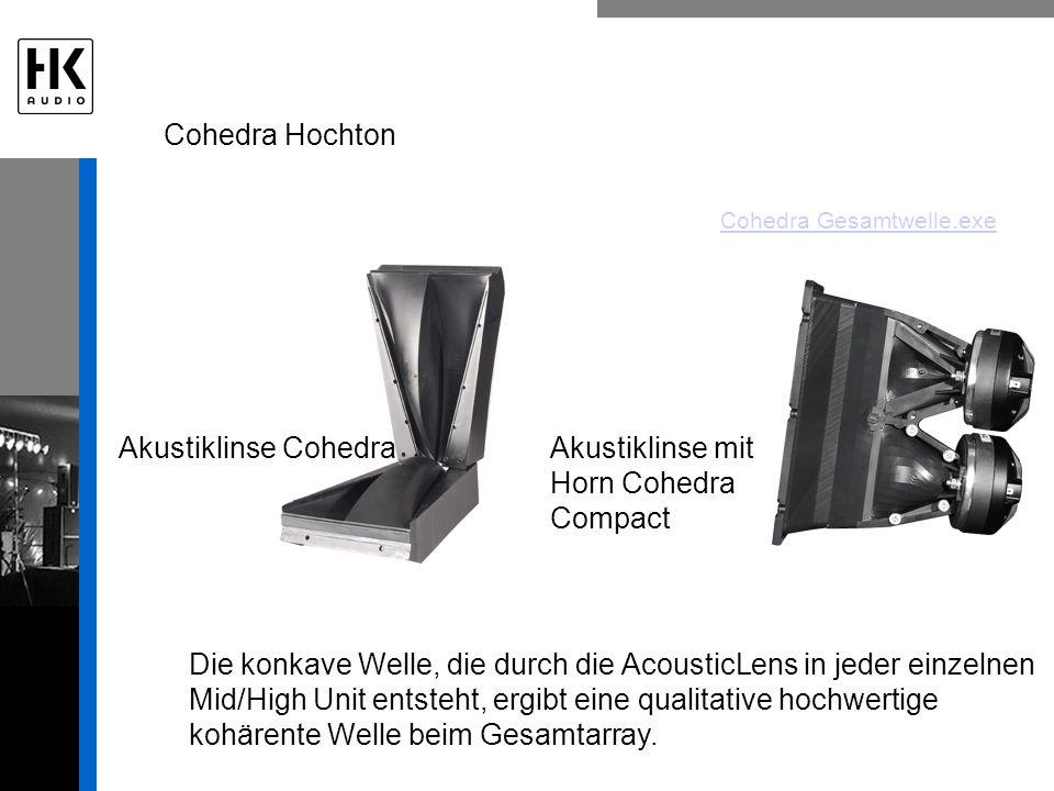 Akustiklinse mit Horn Cohedra Compact