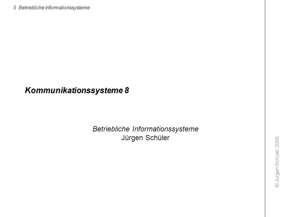 Kommunikationssysteme 8