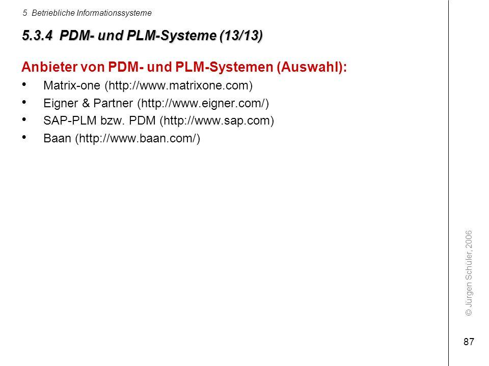 5.3.4 PDM- und PLM-Systeme (13/13)