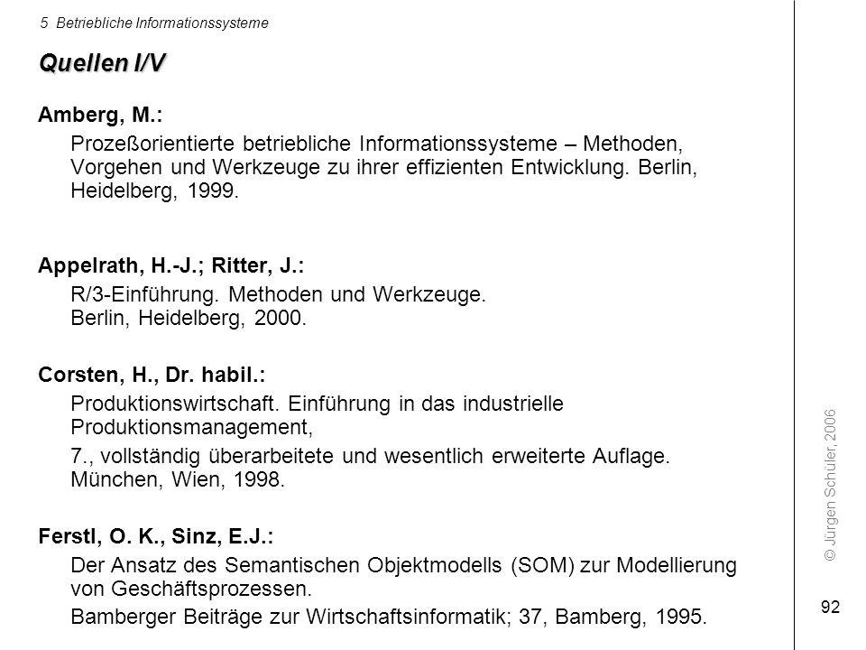 Quellen I/V Amberg, M.: