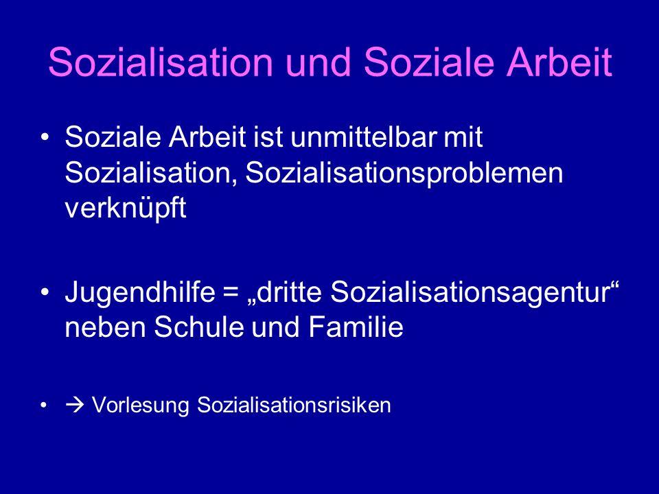 Sozialisation und Soziale Arbeit