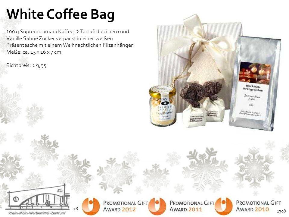 White Coffee Bag