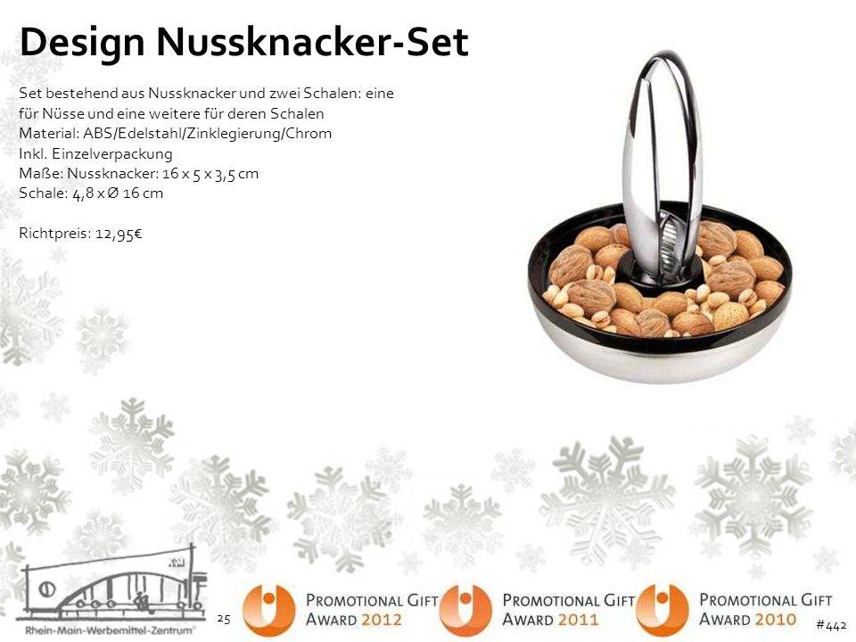 Design Nussknacker-Set