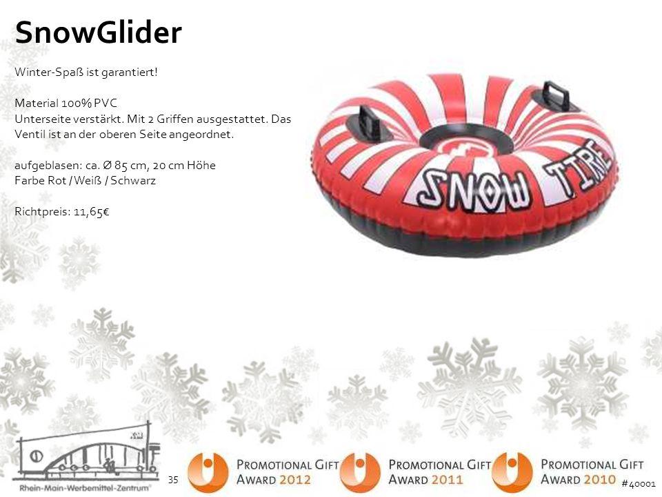 SnowGlider Winter-Spaß ist garantiert!