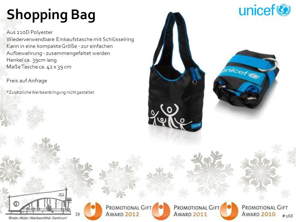 Shopping Bag Aus 210D Polyester