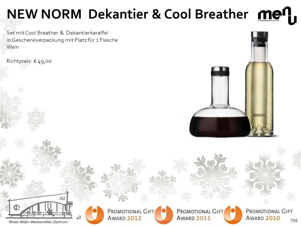 NEW NORM Dekantier & Cool Breather