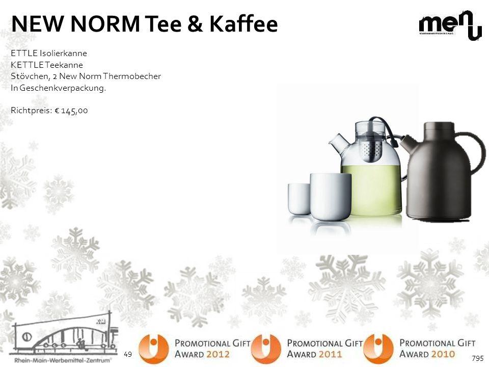 NEW NORM Tee & Kaffee ETTLE Isolierkanne KETTLE Teekanne