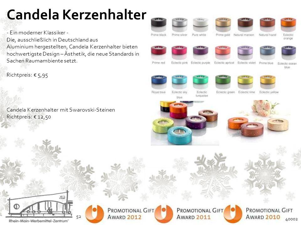 Candela Kerzenhalter - Ein moderner Klassiker - Die, ausschließlich in Deutschland aus.
