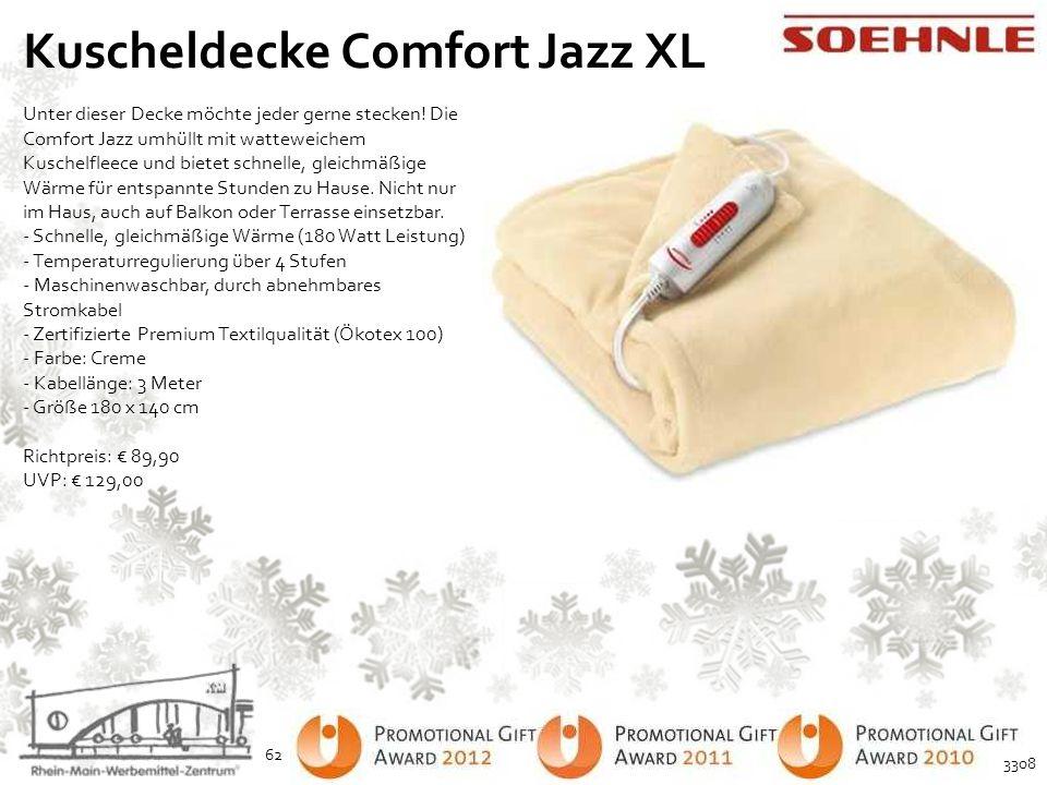 Kuscheldecke Comfort Jazz XL
