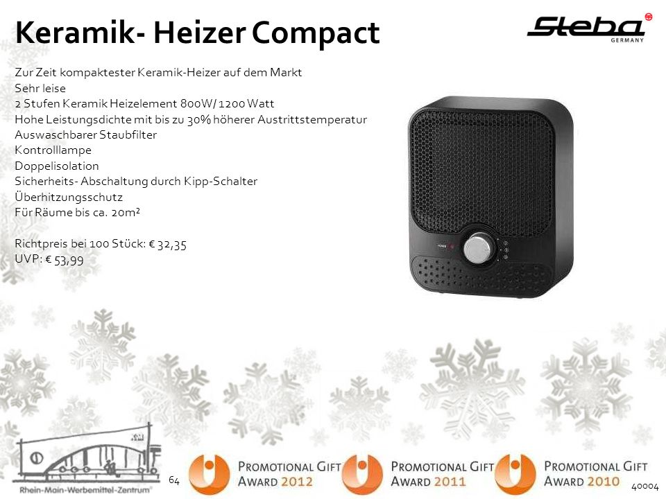 Keramik- Heizer Compact
