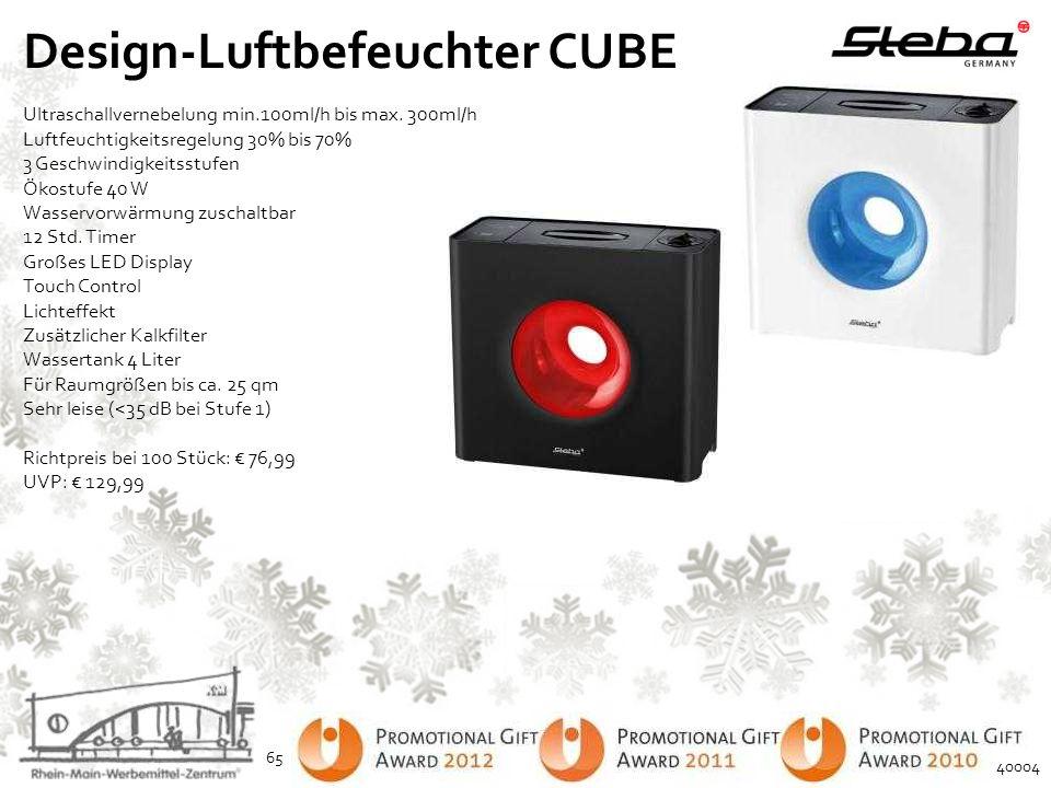 Design-Luftbefeuchter CUBE