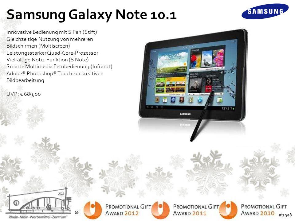 Samsung Galaxy Note 10.1 Innovative Bedienung mit S Pen (Stift)