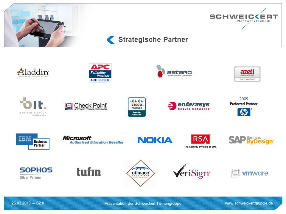 Strategische Partner 26.02.2010 – G2.0