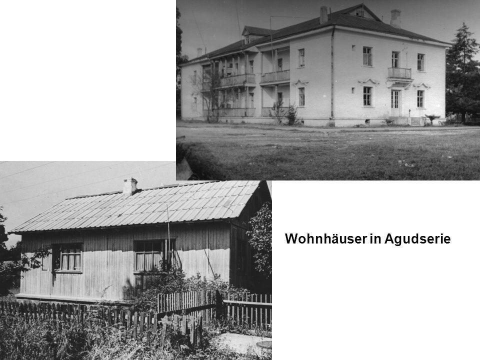 Wohnhäuser in Agudserie