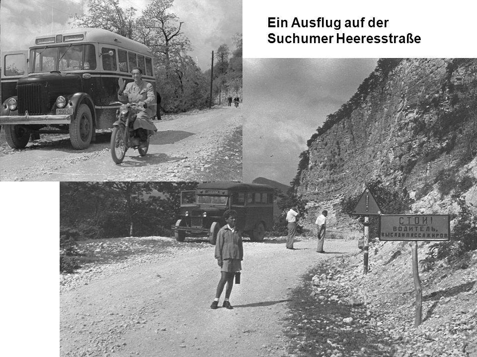 Ein Ausflug auf der Suchumer Heeresstraße