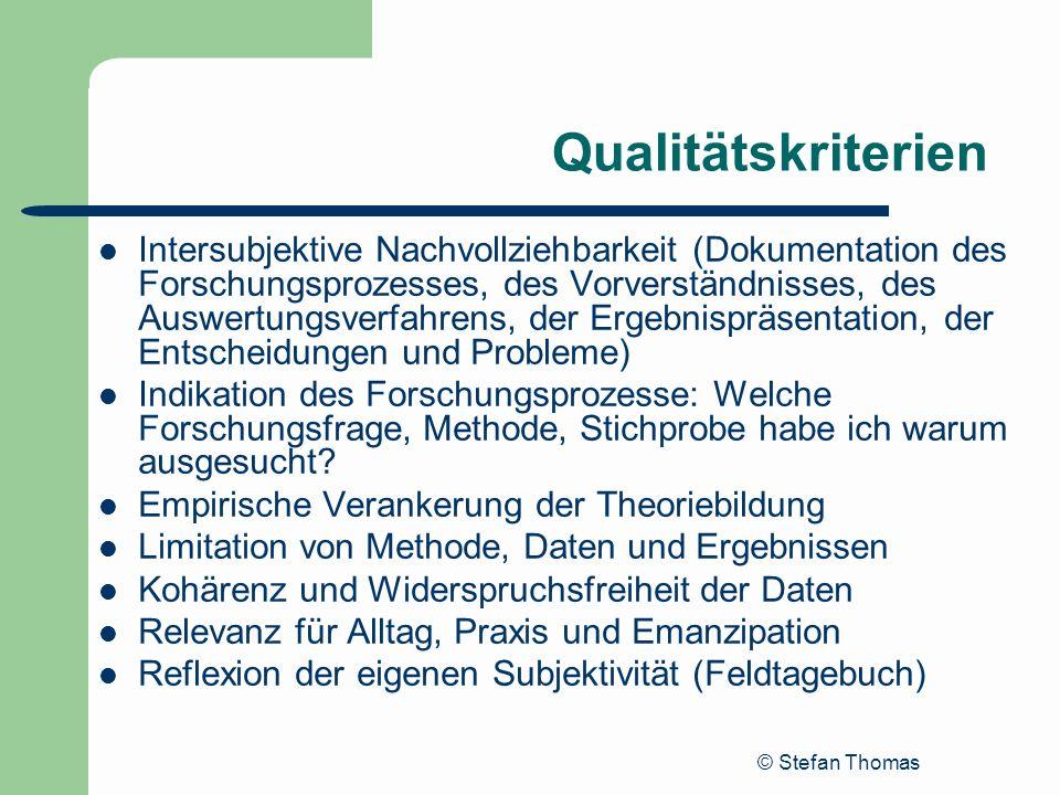 Qualitätskriterien