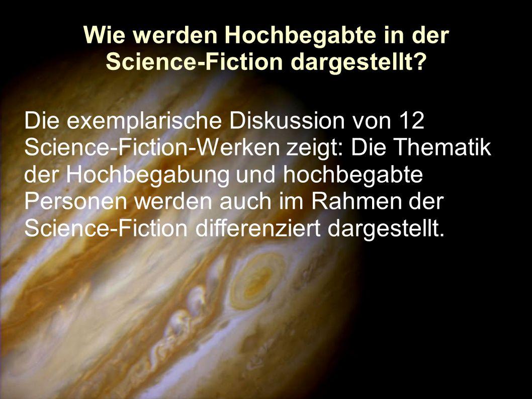 Wie werden Hochbegabte in der Science-Fiction dargestellt