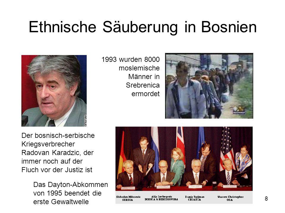 Ethnische Säuberung in Bosnien