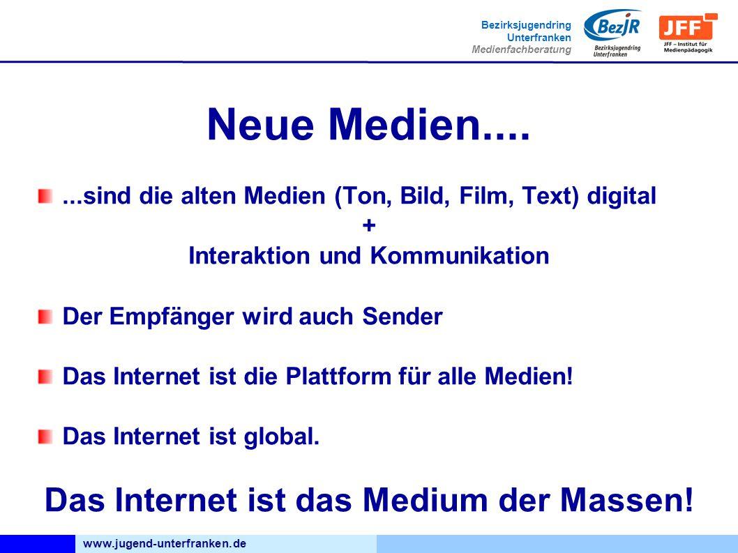 Interaktion und Kommunikation Das Internet ist das Medium der Massen!
