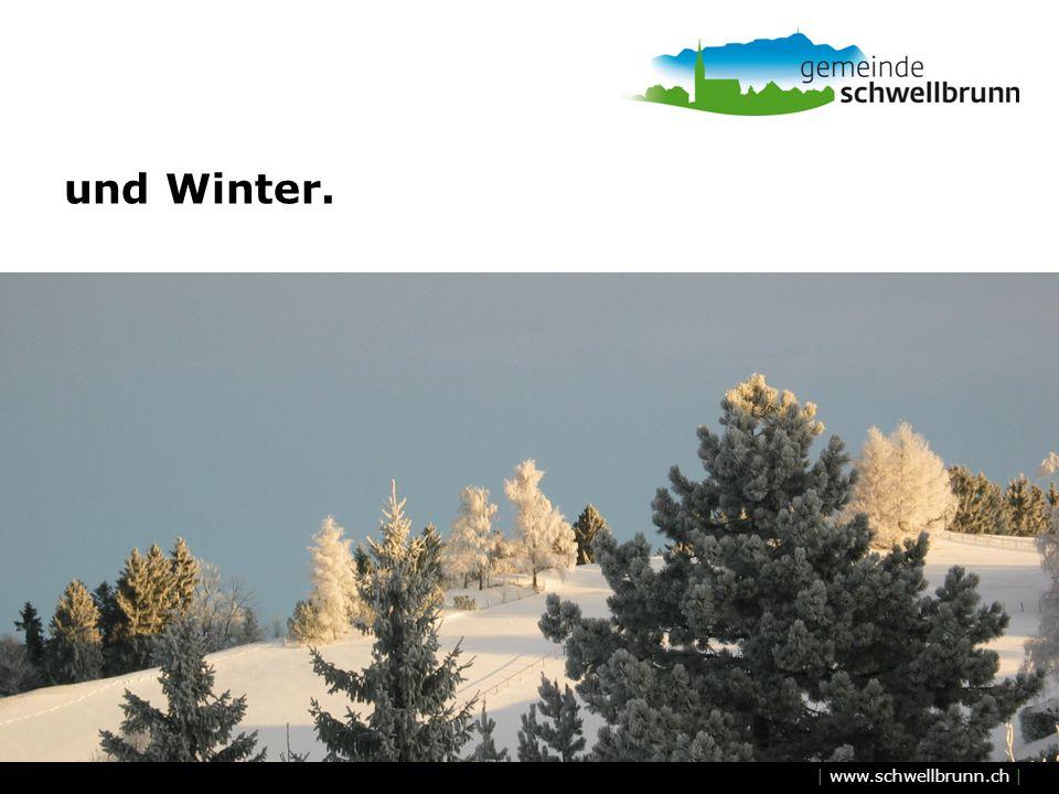 und Winter.