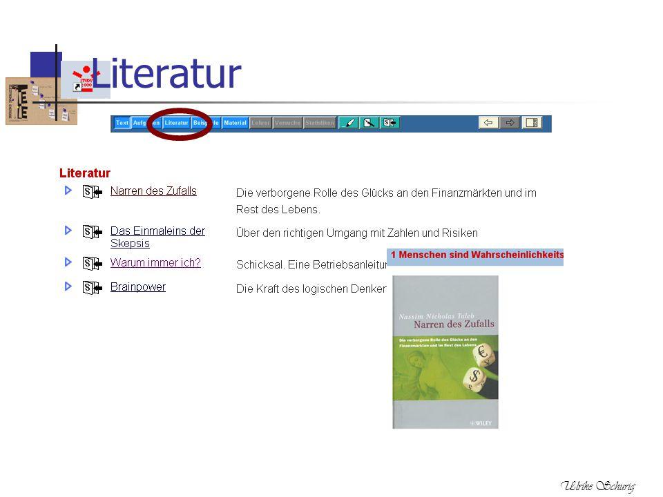 Literatur Ulrike Schurig