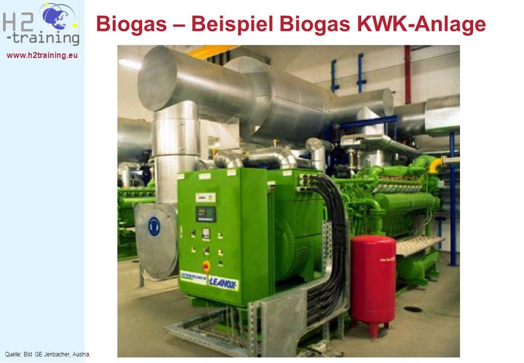 Biogas – Beispiel Biogas KWK-Anlage