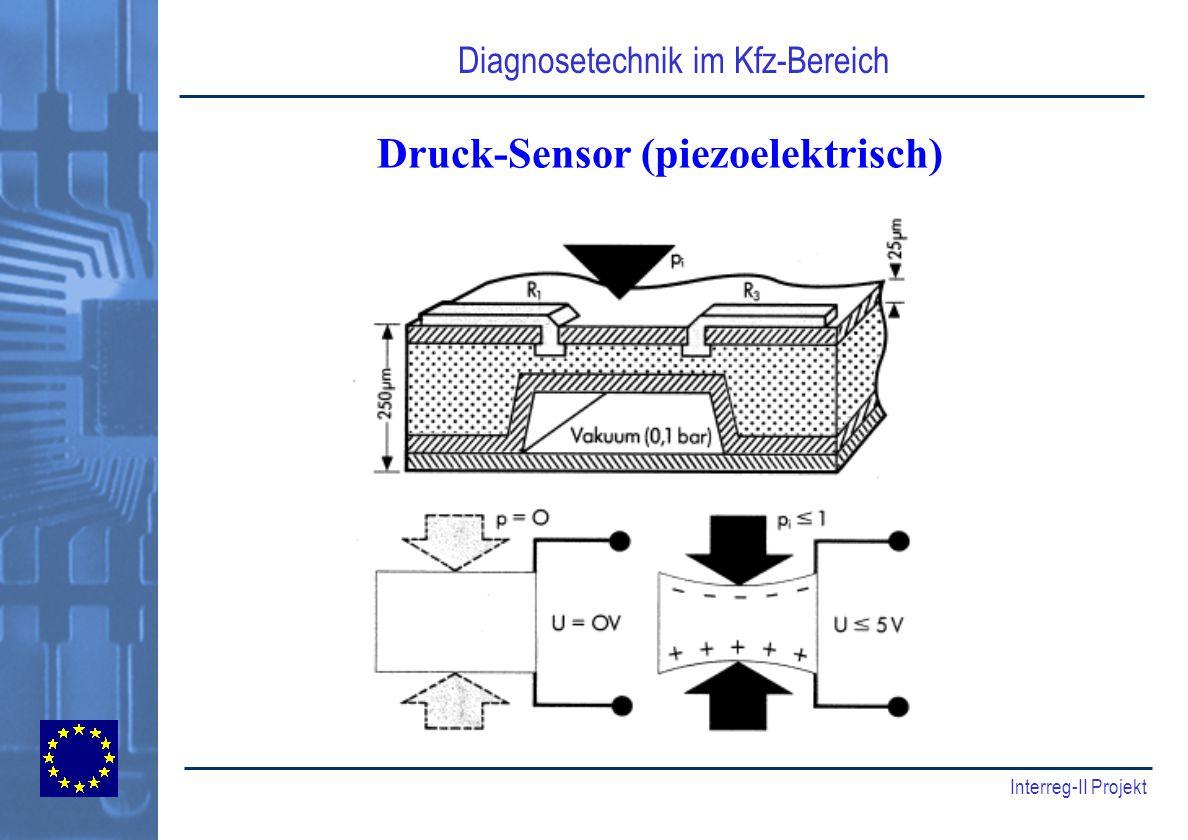 Druck-Sensor (piezoelektrisch)
