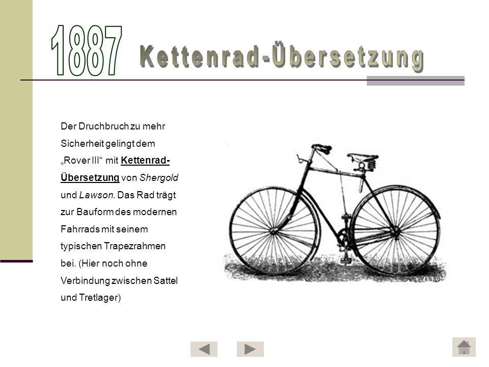Kettenrad-Übersetzung