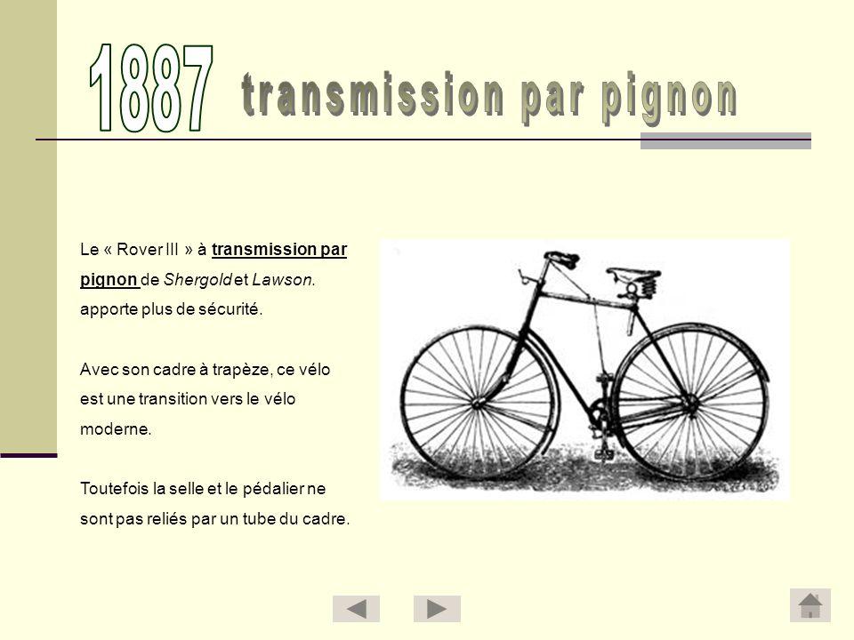 transmission par pignon