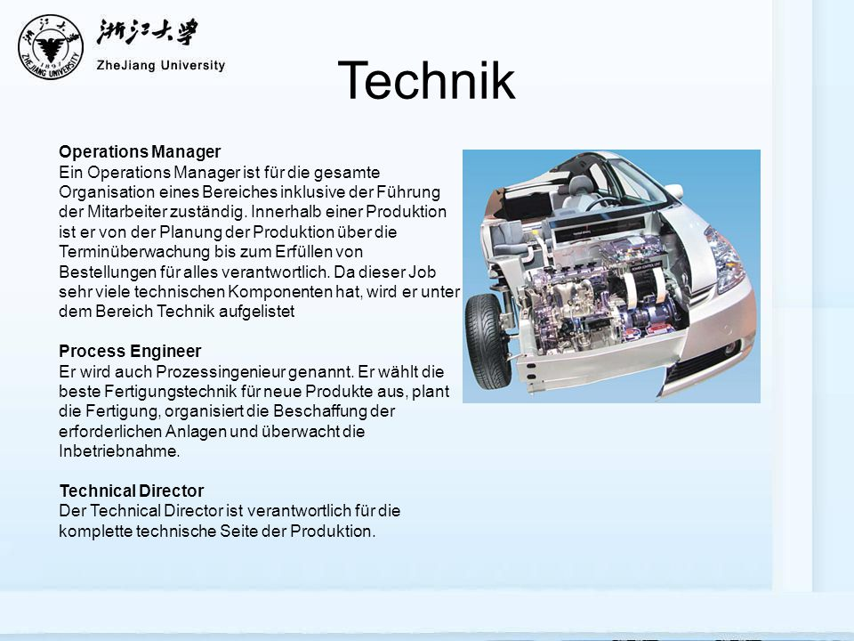 Technik Operations Manager
