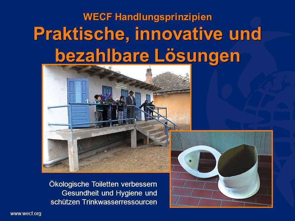 WECF Handlungsprinzipien Praktische, innovative und bezahlbare Lösungen