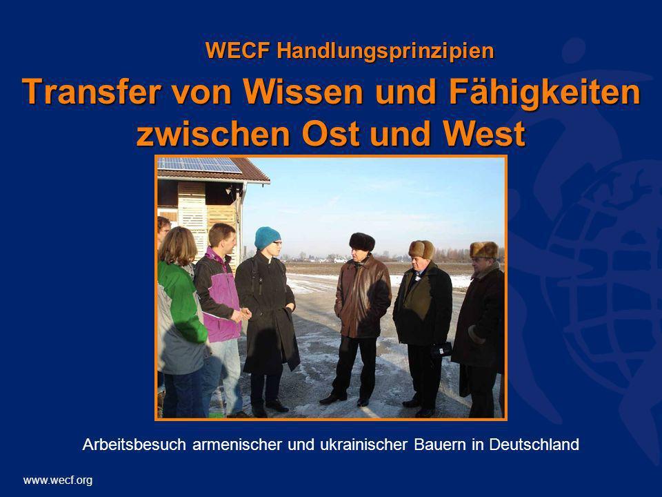 Transfer von Wissen und Fähigkeiten zwischen Ost und West